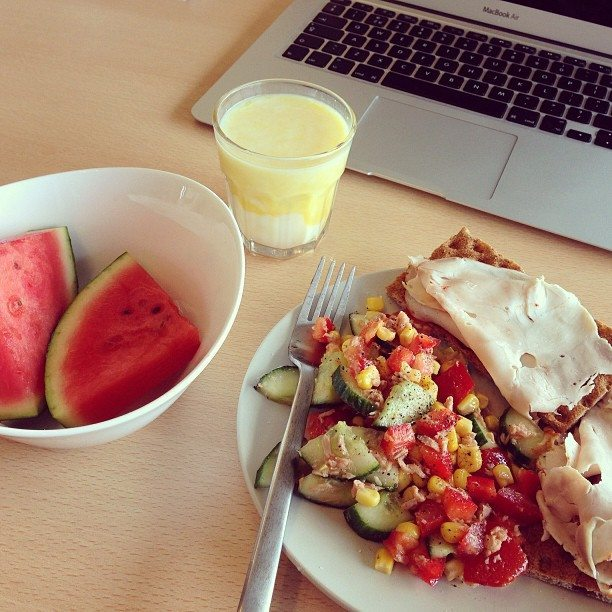 12. Lunch op kantoor
