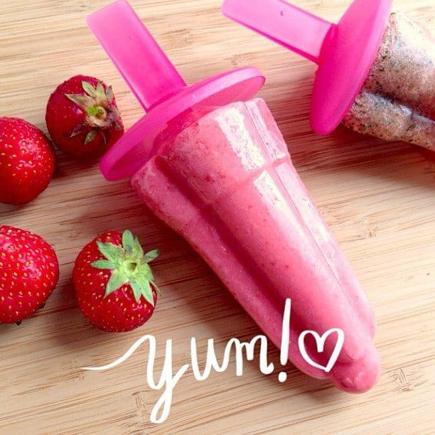 16. Zelfgemaakte fruit ijsjes