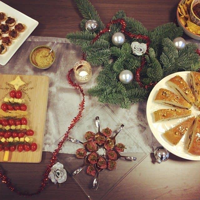 22. Kerstborrel catering
