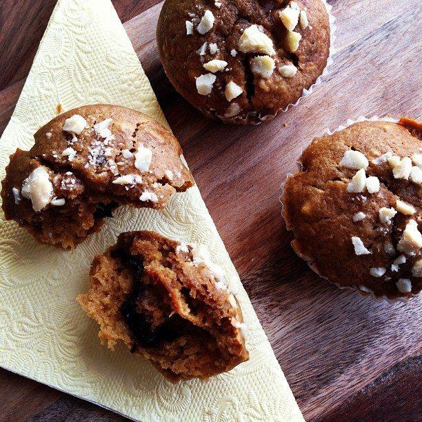 8. Abrikozen-amandel muffins