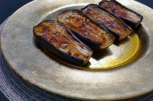 Aubergine uit de oven met kerrie en honing_1