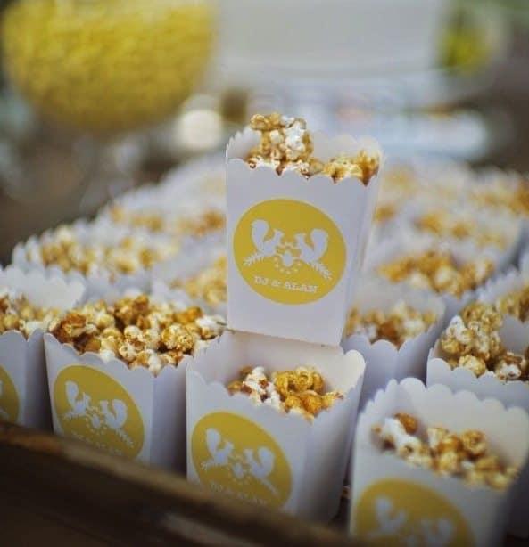 popcorn recept