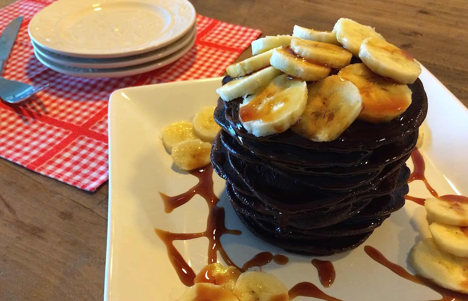 Chocolade banaan pannenkoeken_1_uitgelicht