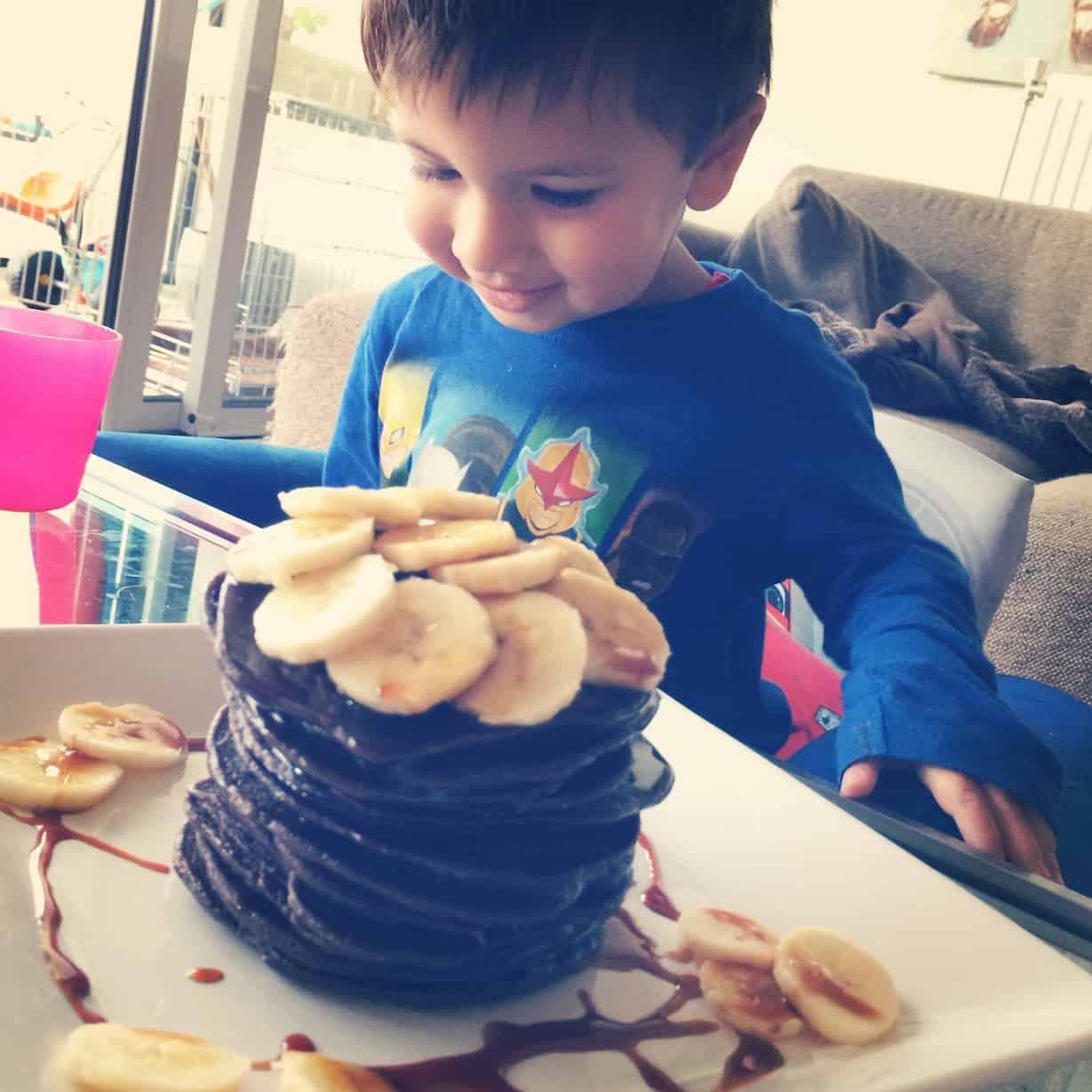 Chocolade banaan pannenkoeken_2