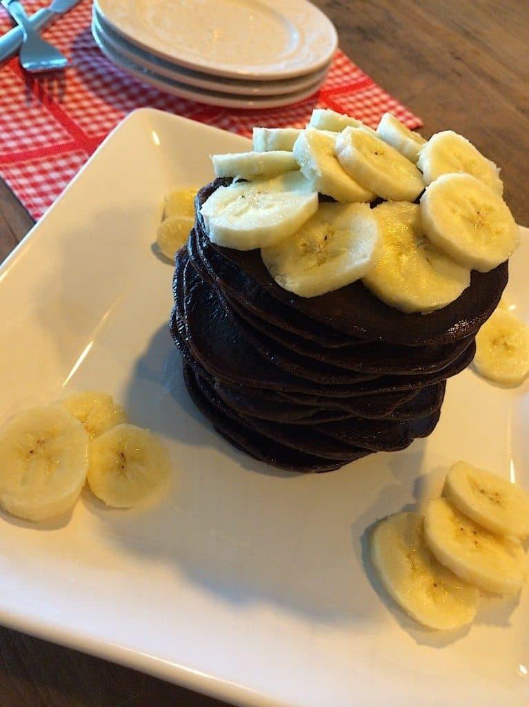 Chocolade banaan pannenkoeken_4