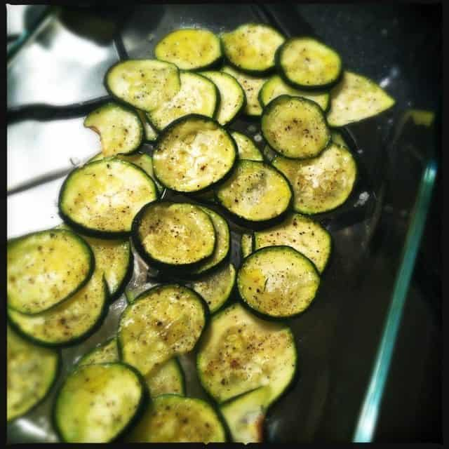 courgette oven