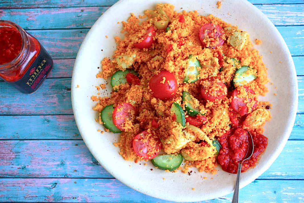 Couscous met ras el hanout kip en sumak_1
