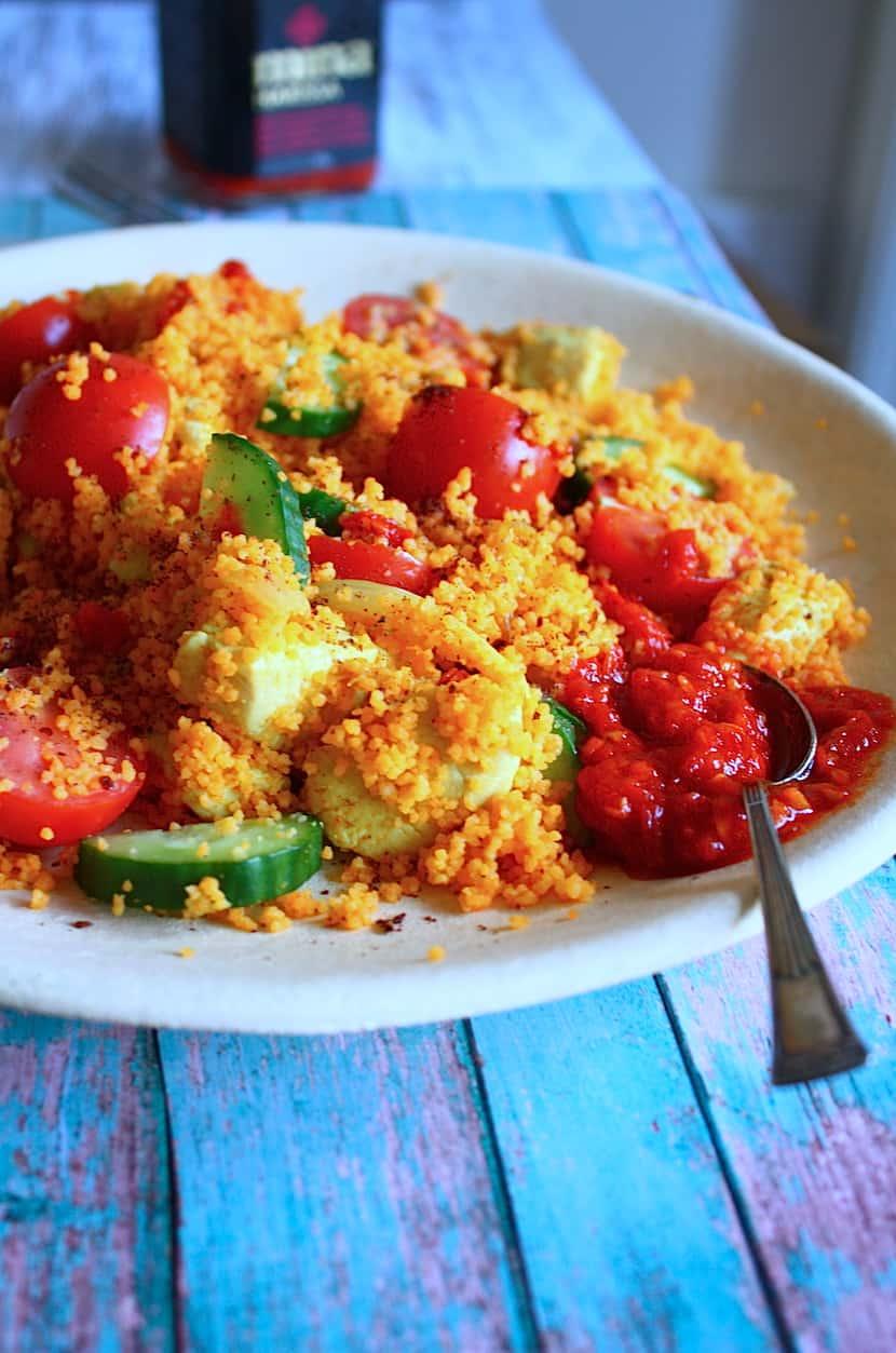 Couscous met ras el hanout kip en sumak_2