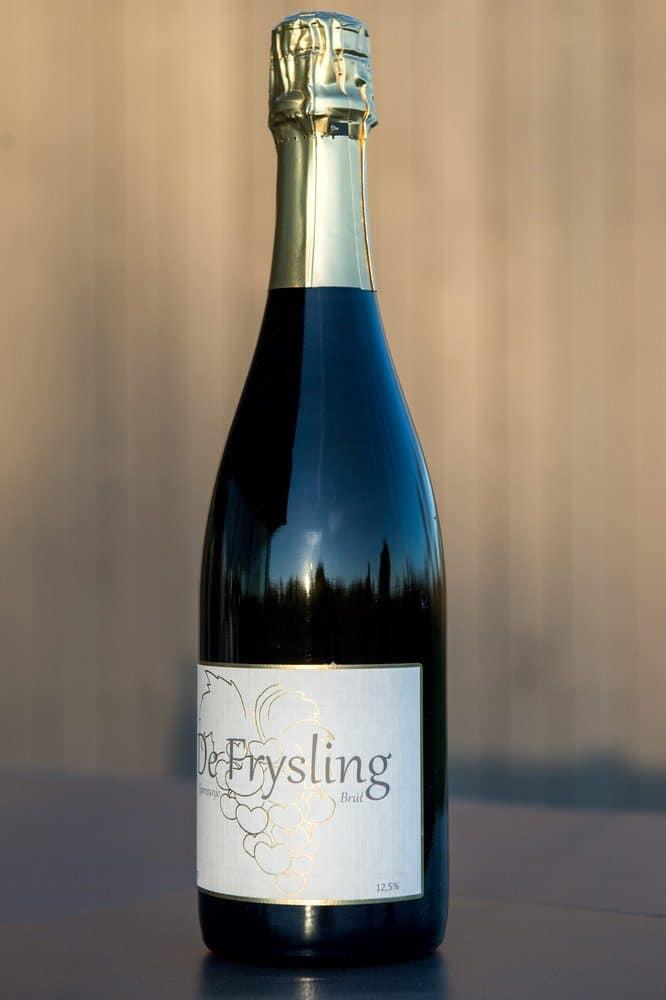 Champagne flessen van Frysling Twijzel 21-11-2013 De Brut