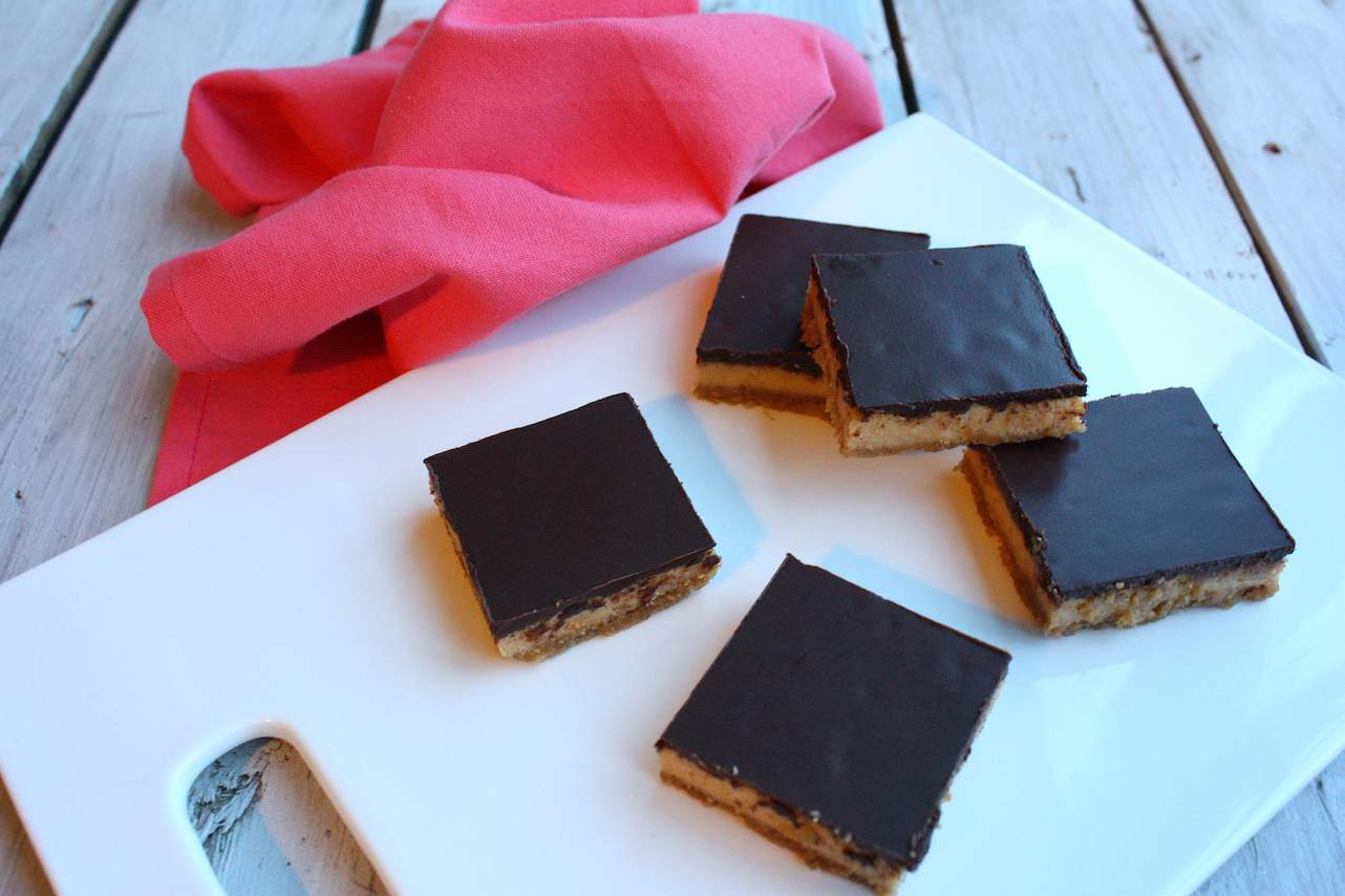 Dulce de leche cheesecake vierkantjes_4