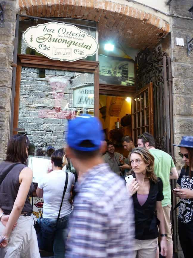 Eten in Florence_osteria il buongustai