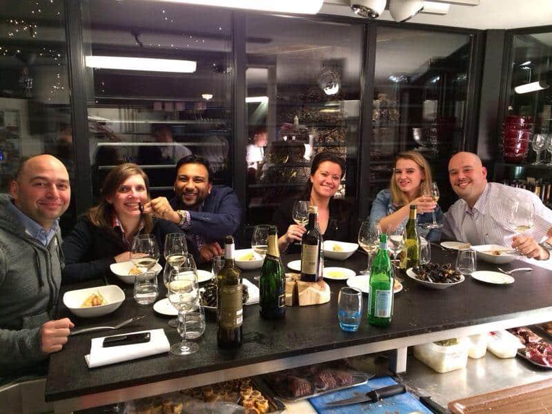 Francesca Kookt_Hofstede Meerzigt review_vrienden aan de chef's table