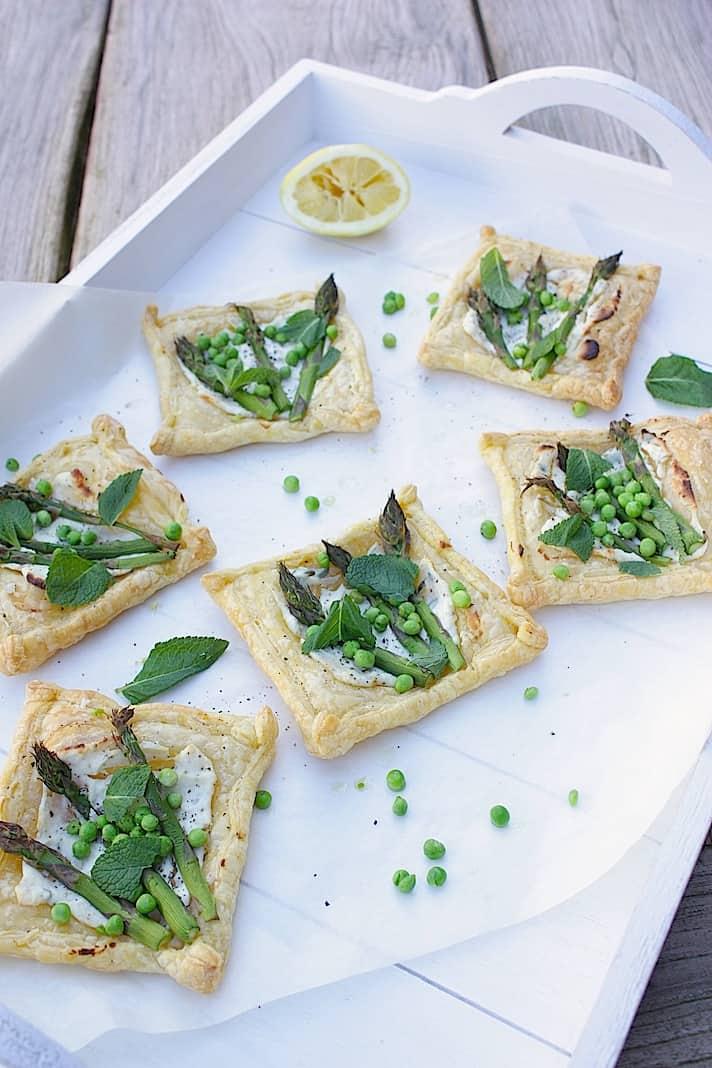 Francesca Kookt_Lentetaartjes met groene asperges, munt en doperwten_3