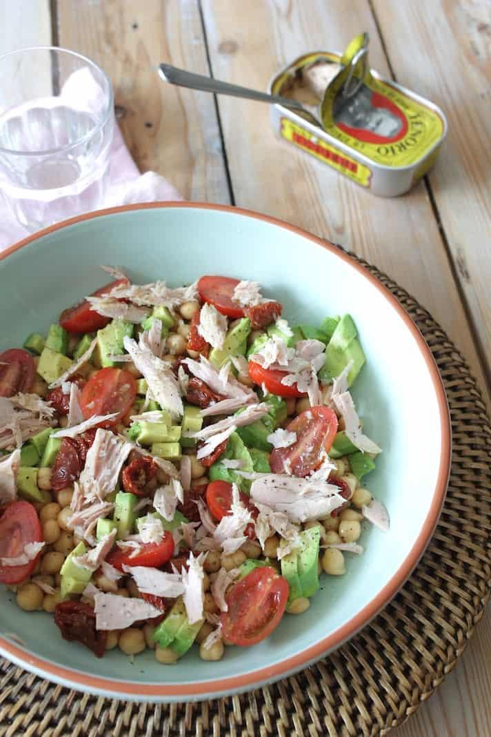 salade verse tonijn