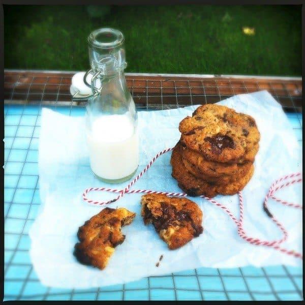 Francesca Kookt_koekjes bakken voor mama_chocolate chip koekjes