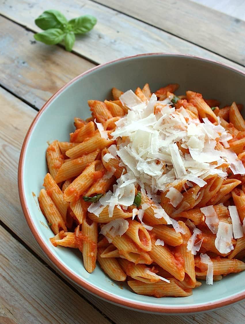 italiaanse pasta maken