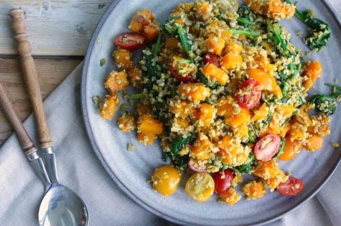 Freekeh-salade-met-geroosterde-pompoen-en-spinazie_112