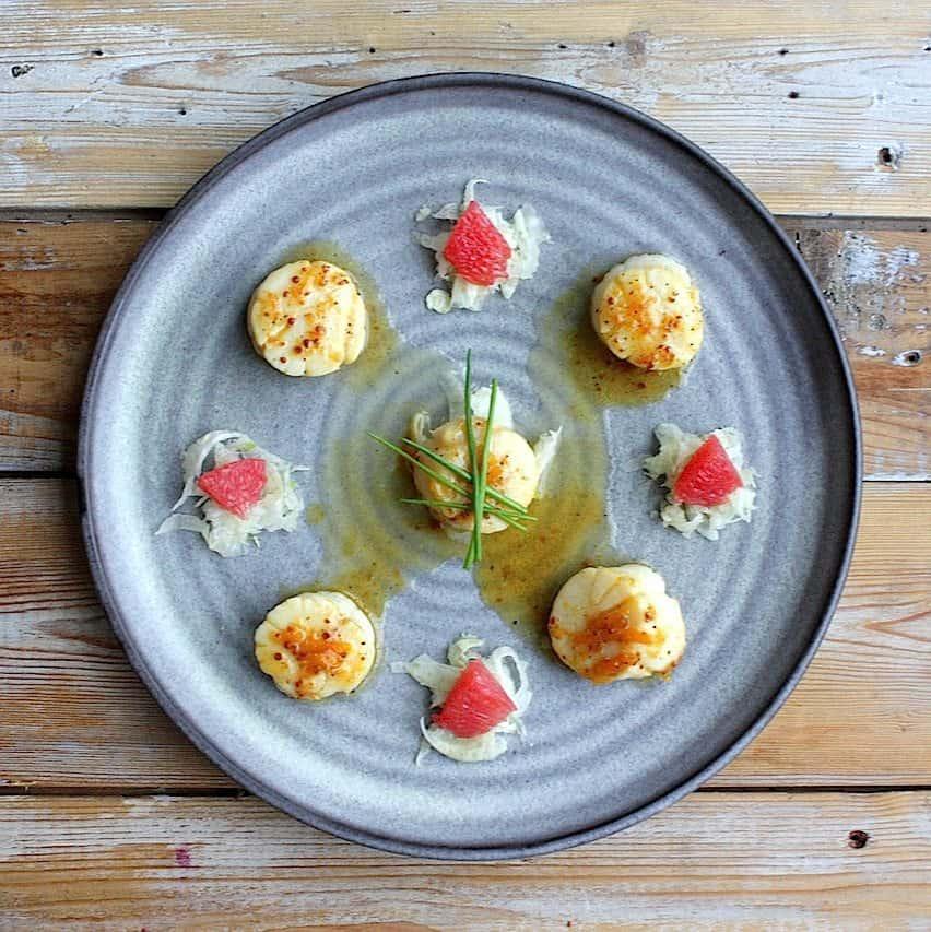Gemarineerde coquilles met grapefruit en venkel_3