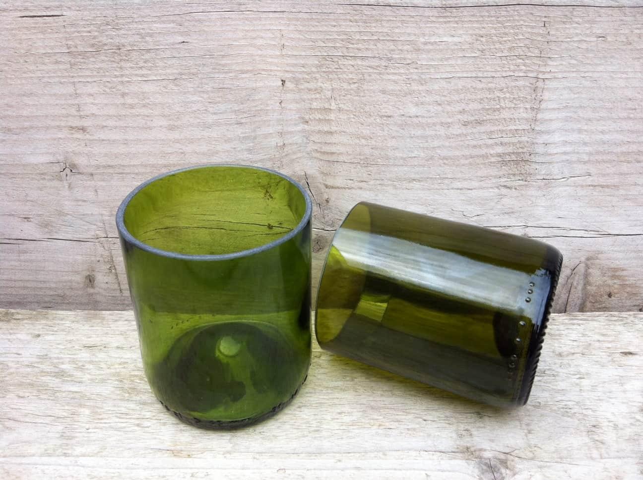 Glas 2 x groen 2