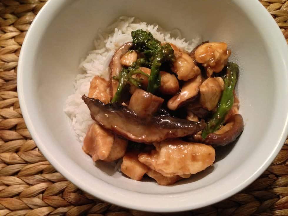 Hoisin kip met broccoli en paddenstoelen_3