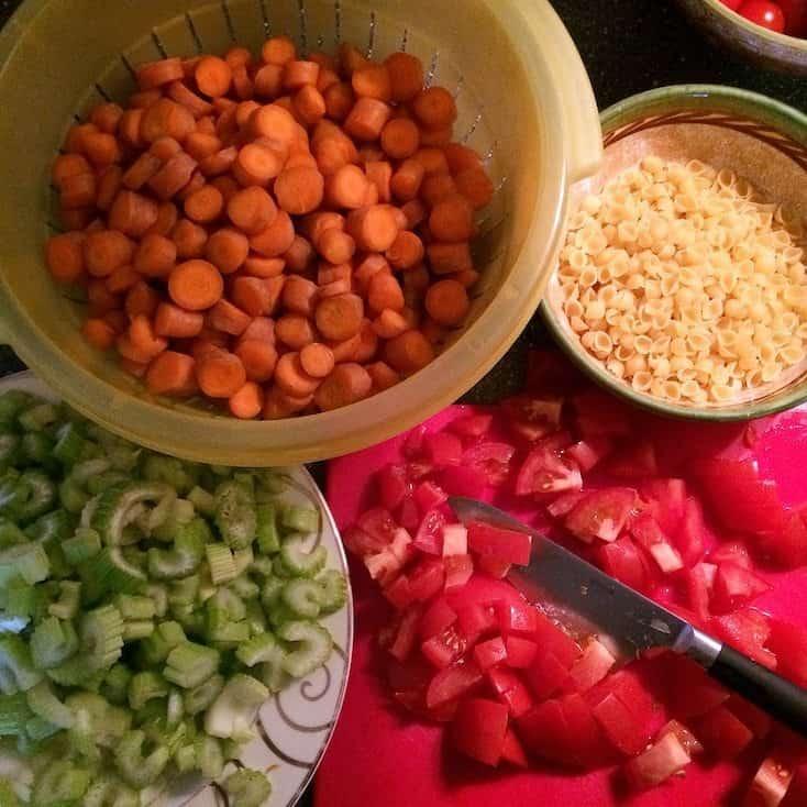 Italiaanse groente tomatensoep_3