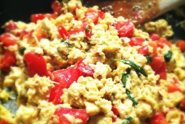 Italiaanse scrambled eggs kopie