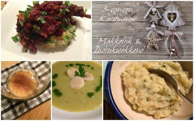 Kerst op Francesca Kookt_3-gangen menu