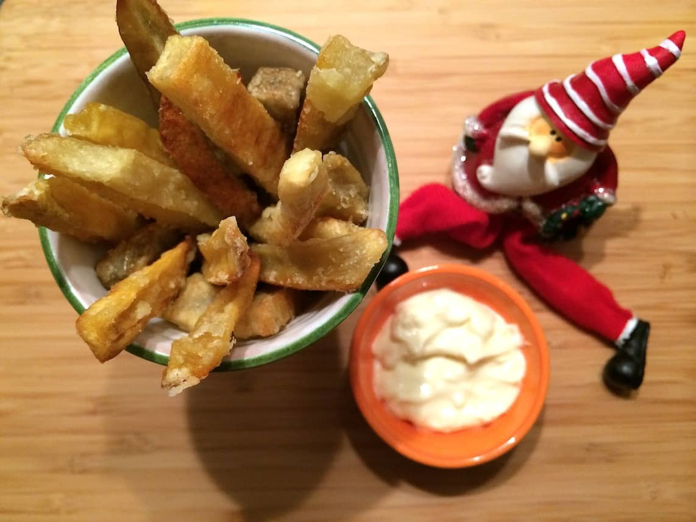 Kids kerstmenu_zoete aardappel patat