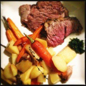 Lamsbout en groenten uit de oven5