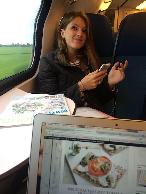 Leeuwarden food hotspots_in de trein