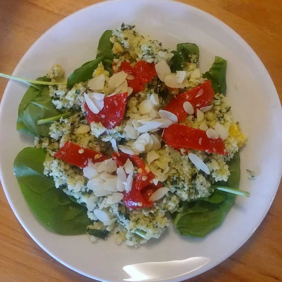 Leftover_lunch_couscous_salade_en_spinazie