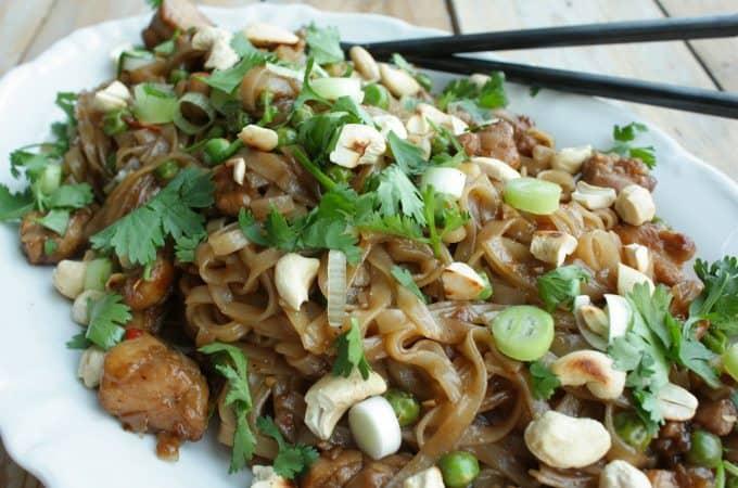 Makkelijke Pad Thai met kip_1