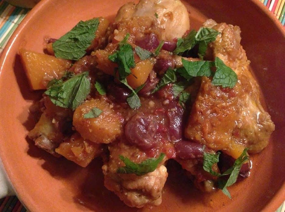Marokkaanse kip met pompoen_2