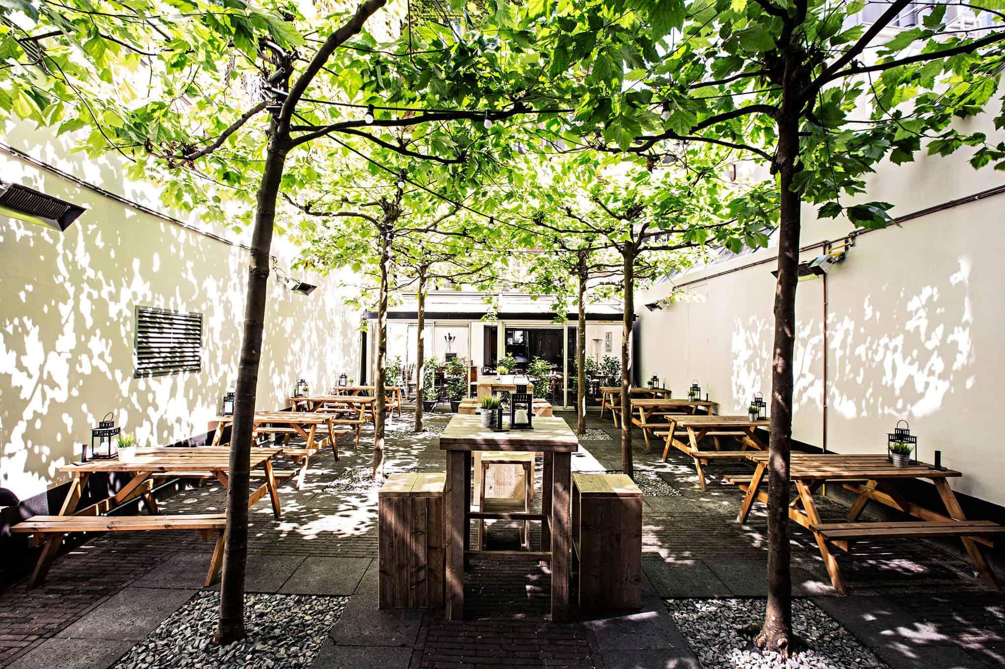 De mooiste terrassen van nederland met smaak francesca kookt for Lay outs terras van het restaurant