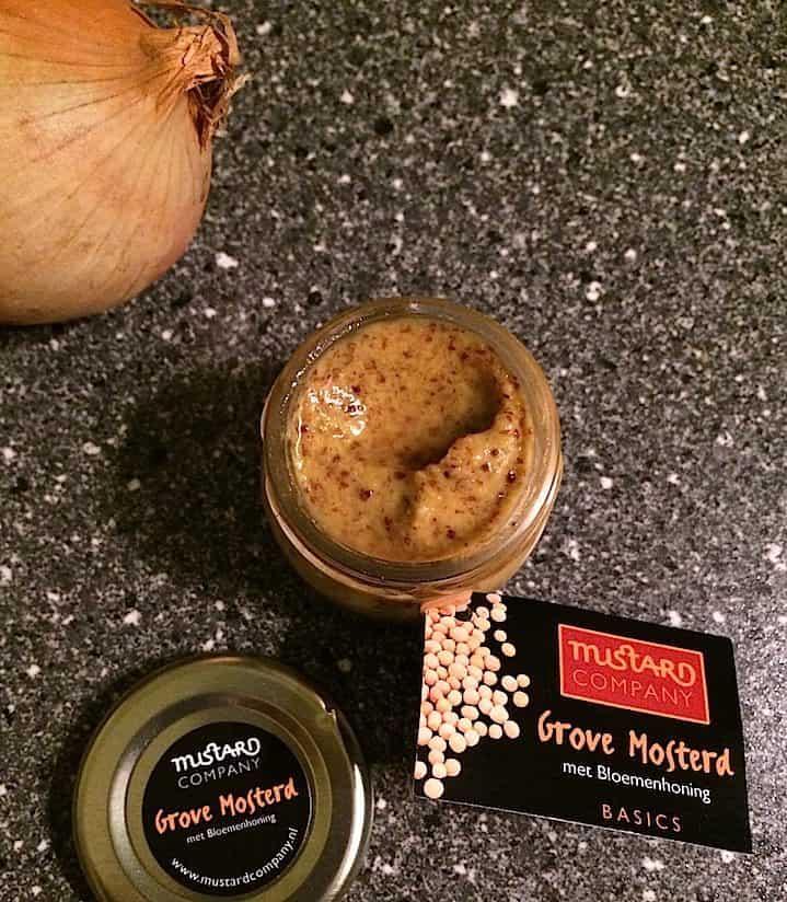 Mustard Company grove mosterd met bloemenhoning