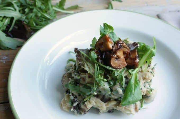 Oosterse sla stamppot met champignons_1