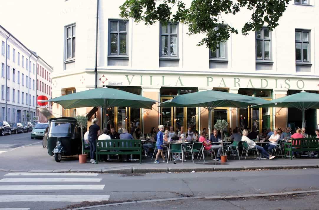 Oslo food hotspots_villa paradiso