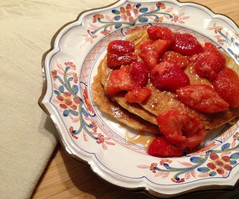 Pancakes van havermout en karnemelk_2