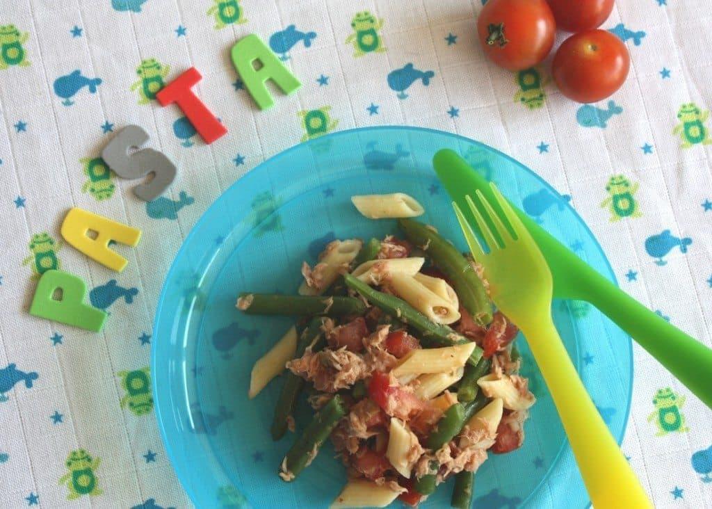 Pasta met tonijn en sperziebonen_2