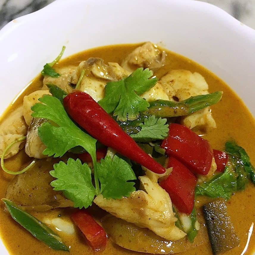 Penang curry met zeebaars_6