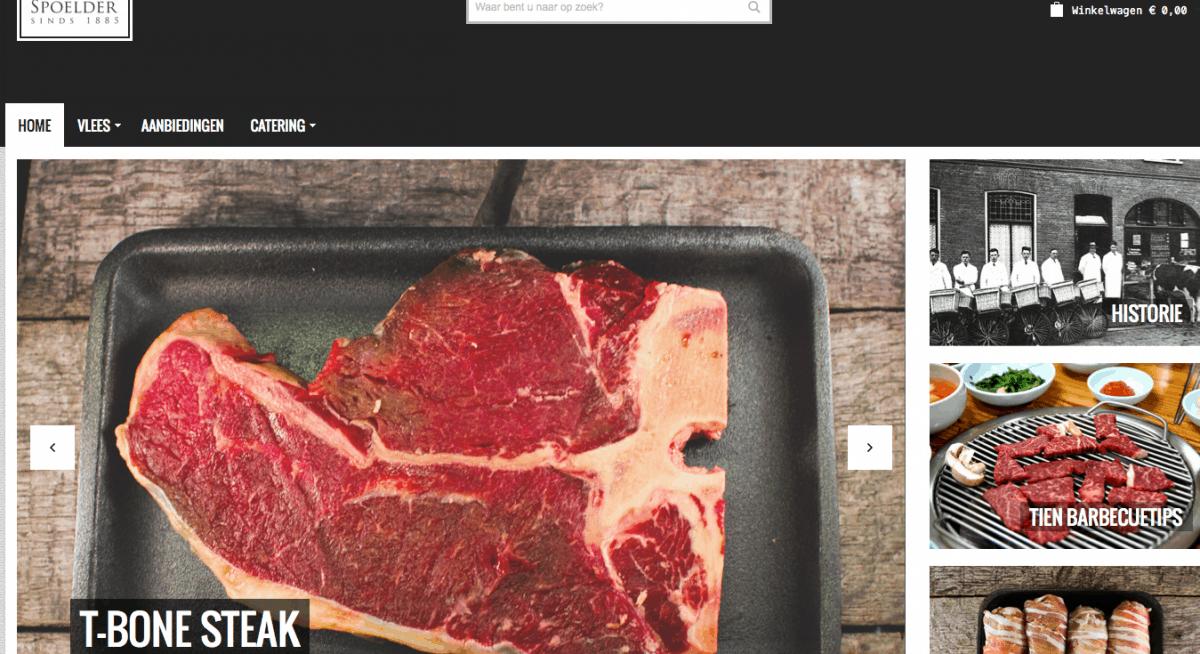 Review online vlees bestellen bij Spoelder_website1
