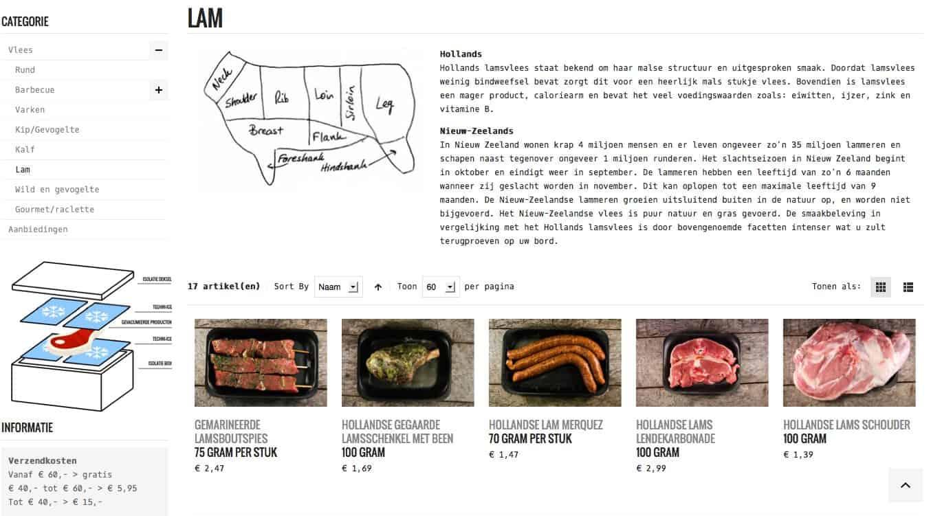 Review online vlees bestellen bij Spoelder_website2