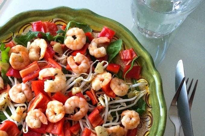 Salade-met-garnalen_Thaise-basilicum_1a