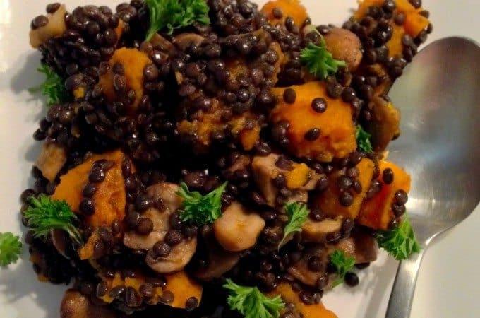 Salade-met-pompoen-linzen-en-champignons_1_uitgelicht-680x450