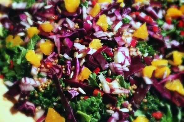 Salade_met_boerenkool_mandarijn_balsamico_1