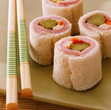 Sandwich sushi