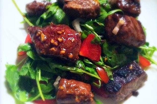 Sizzling Vietnamese biefstukpuntjes