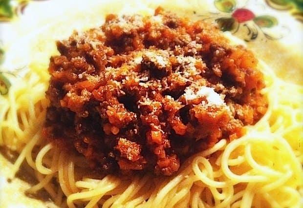 Spaghetti al ragu kopie