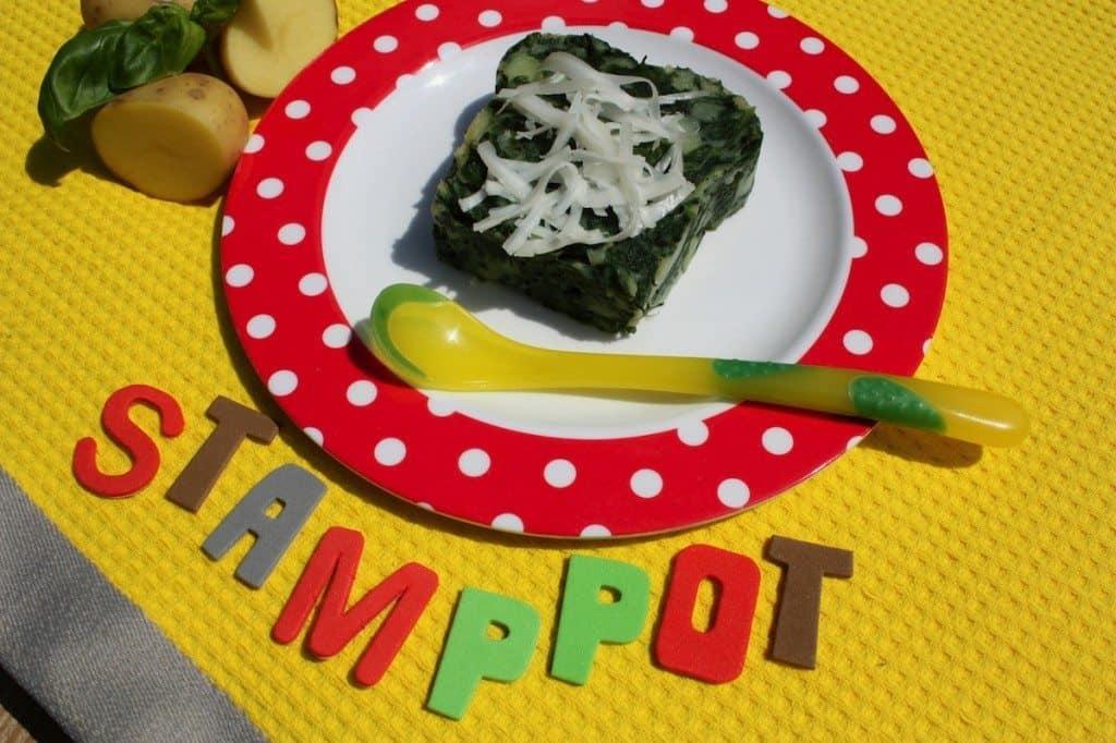 Stamppot met spinazie en geitenkaas_2