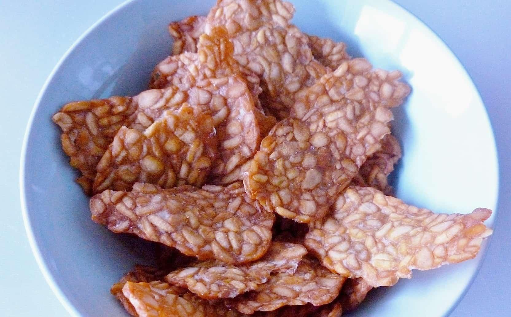 Zelf Keuken Maken Goedkoper : Tempeh chips zelf maken – Francesca Kookt